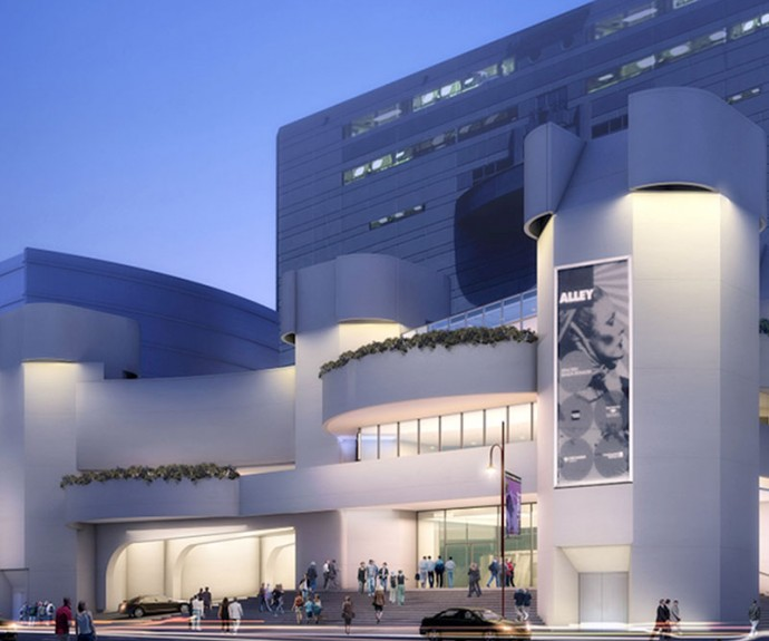 Alley Theatre Render