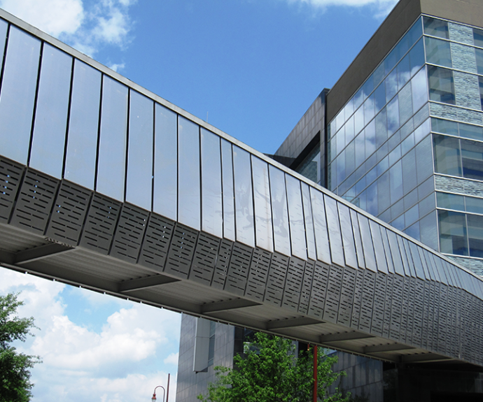 Houston Ballet Pedestrian Bridge